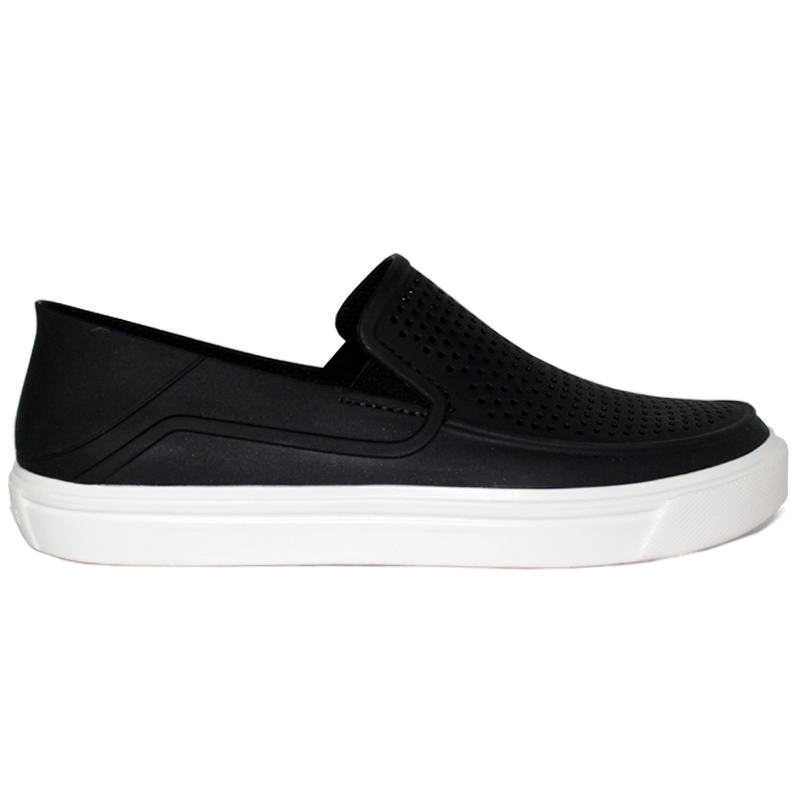 CROCS CITILANE ROKA SLIP-ON BLACK/WHITE