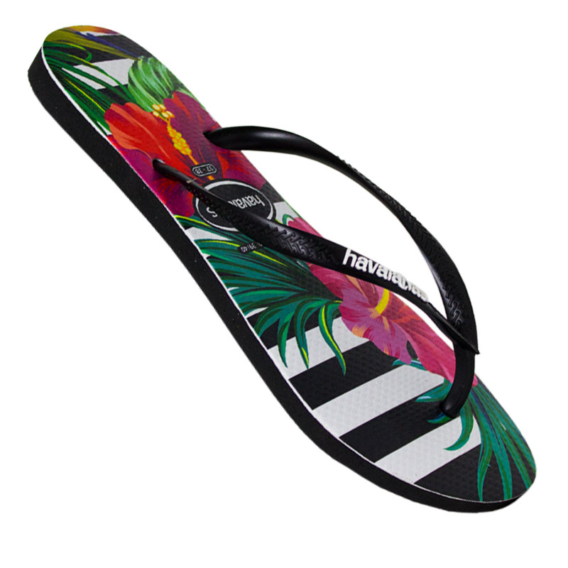 HAVAIANAS SLIM FLORAL IMPERIAL PALACE