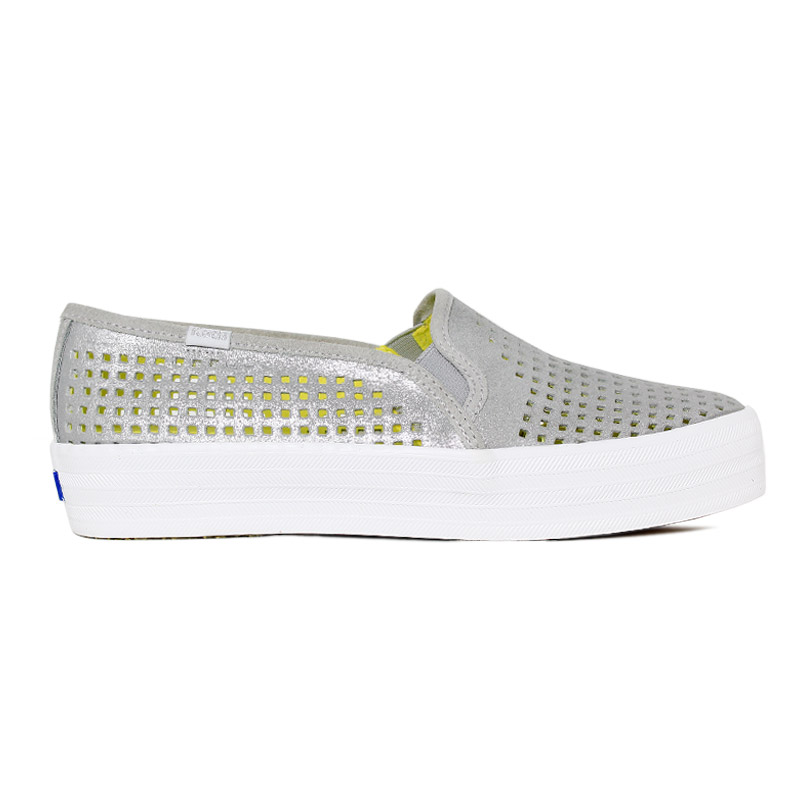 *KEDS TRIPLE DECKER SUEDE SUMMER CINZA