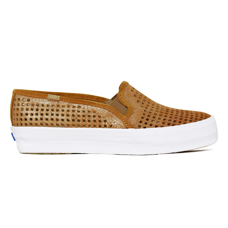 *KEDS TRIPLE DECKER SUEDE SUMMER CAMEL
