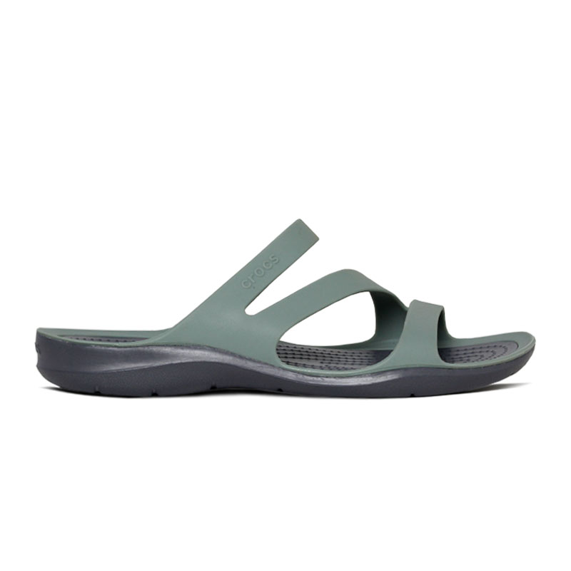 CROCS SWIFTWATER SANDAL DUSTYN-CHARCOAL