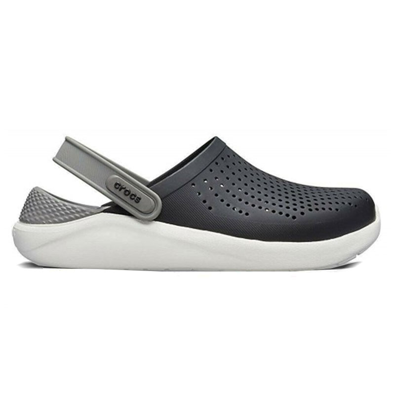 CROCS LITERIDE CLOG SMOKE BLACK