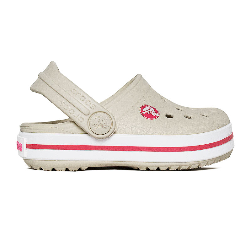 CROCBAND CLOG KIDS STUCCO MELON