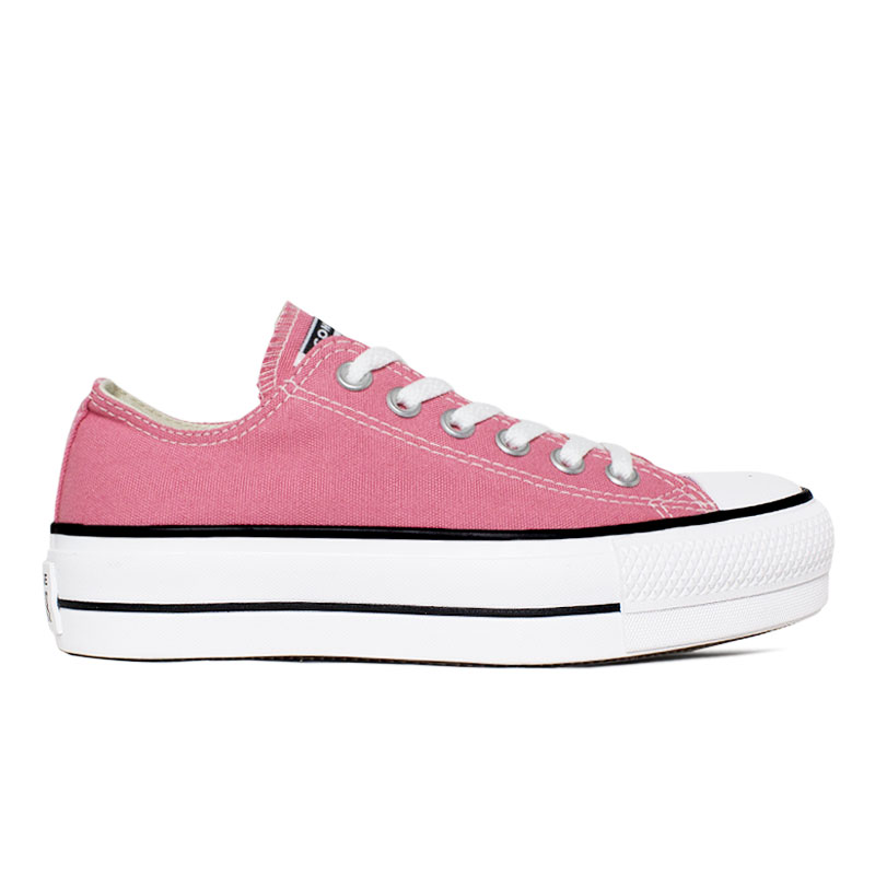 ALL STAR PLATAFORMA OX ROSA PALIDO