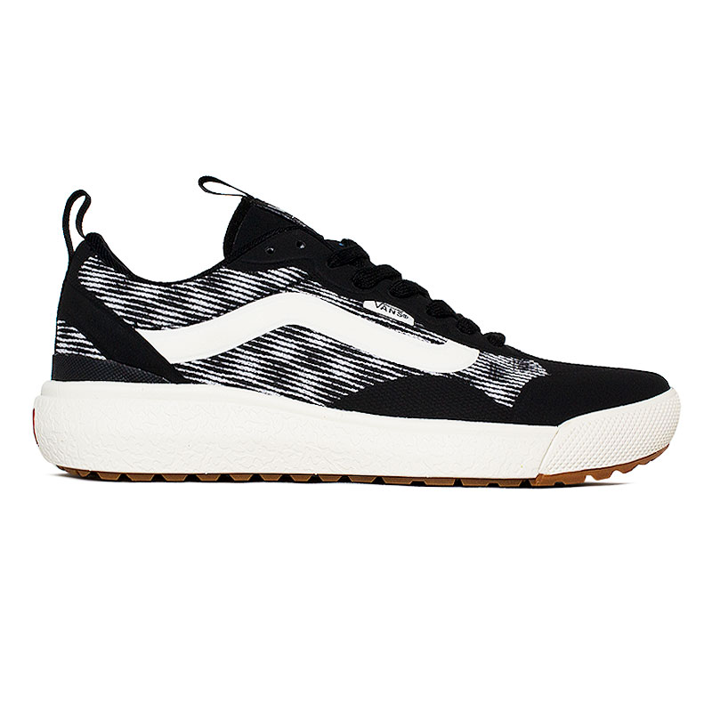 VANS ULTRARANGE EXO BLUR CHECKER BLACK