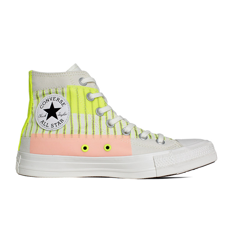 ALL STAR PATCHWORK SUMMER HI BEGE/FLUOR