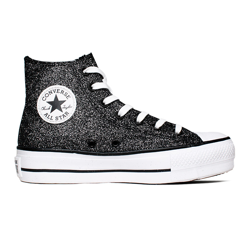 ALL STAR PLATAFORMA GLITTER HI