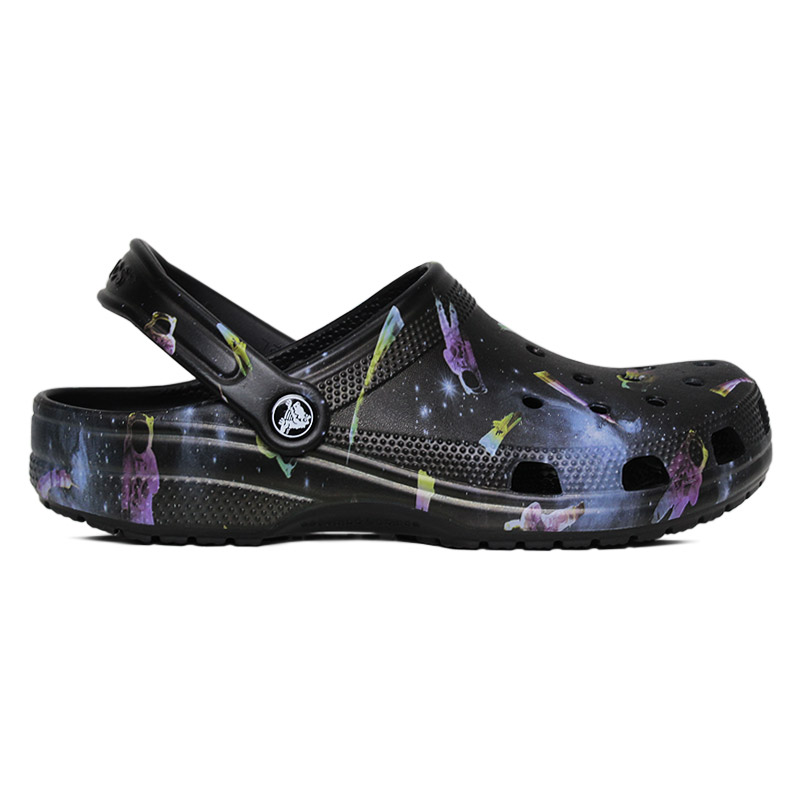 CROCS CLASSIC OUT OF THIS WORLD BLACK