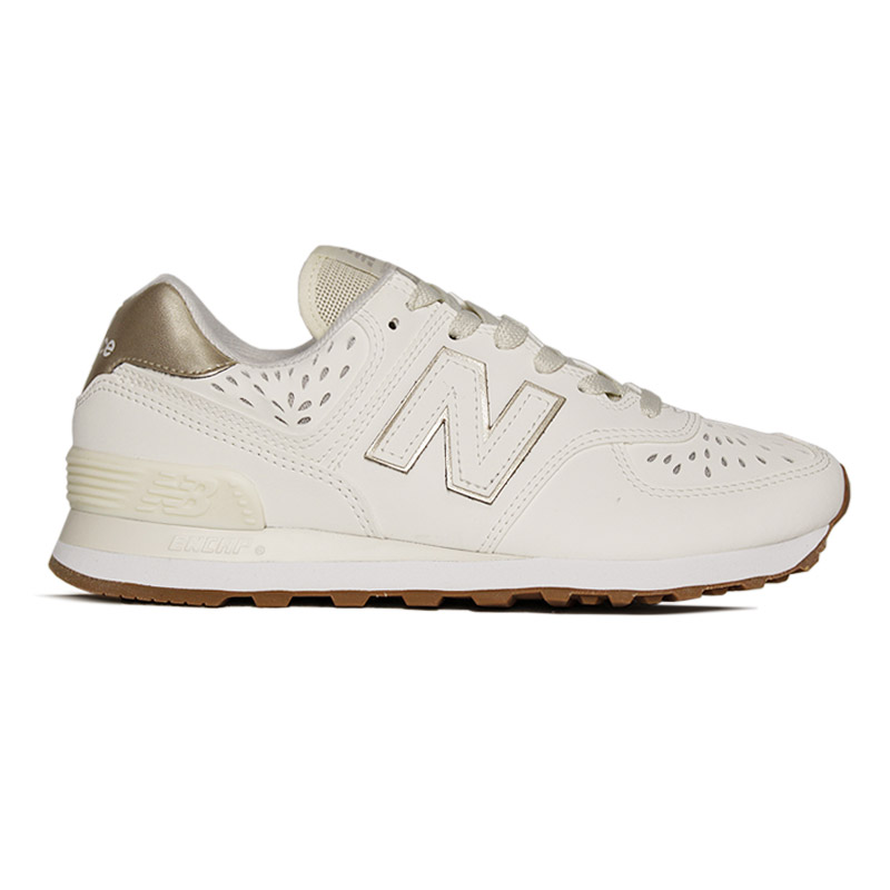 NEW BALANCE 574 BEGE/OURO