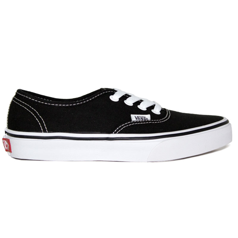 TENIS VANS AUTHENTIC BLACK/WHITE