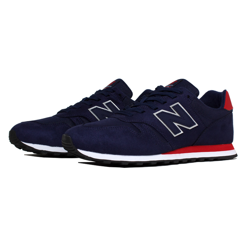 New balance masculino navy blue red 2