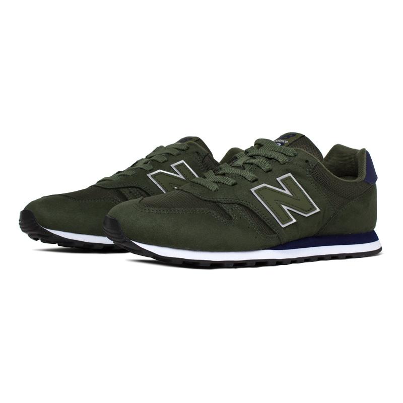 New balance masculino dark green navy 1