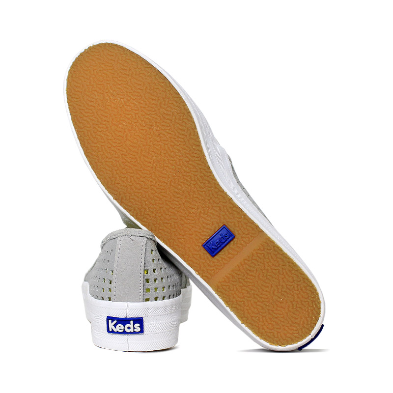 Keds triple decker suede summer cinza 3