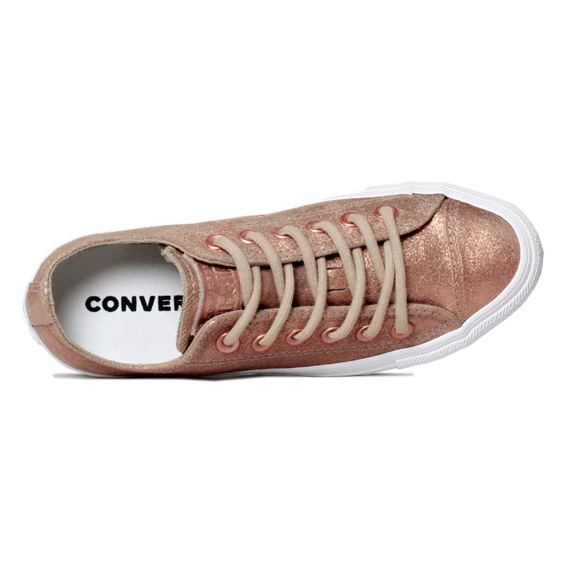 All star old leather chuck ox cobre 3