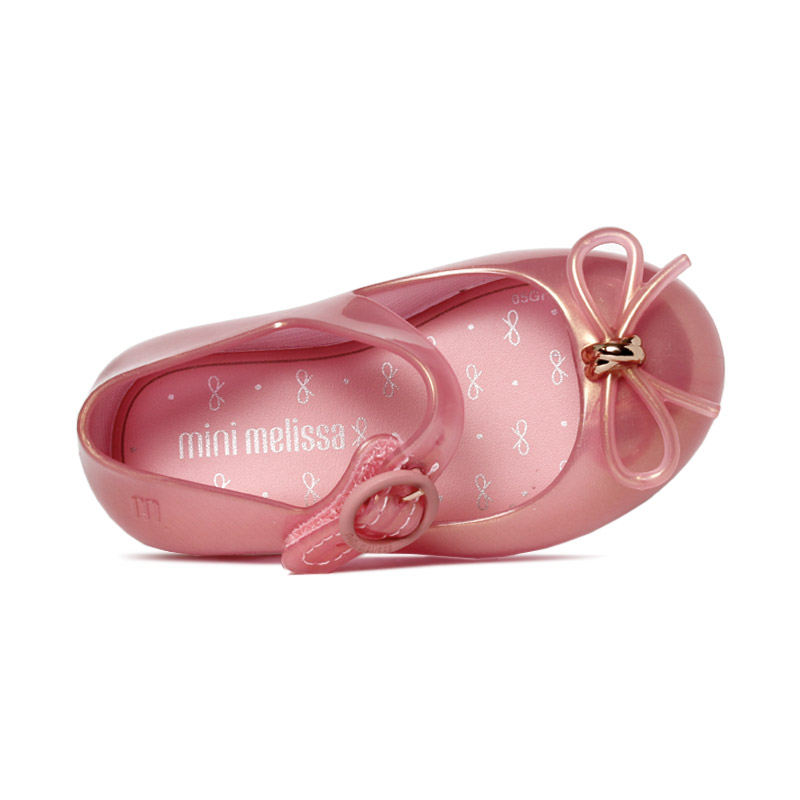 Mini melissa sweet love rosa perolado 3