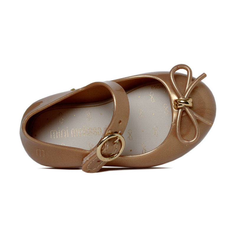 Mini melissa sweet love dourado 3