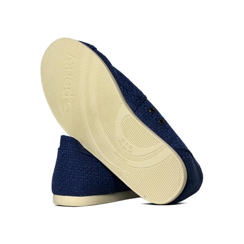 Alpargata perky azul rustic 3