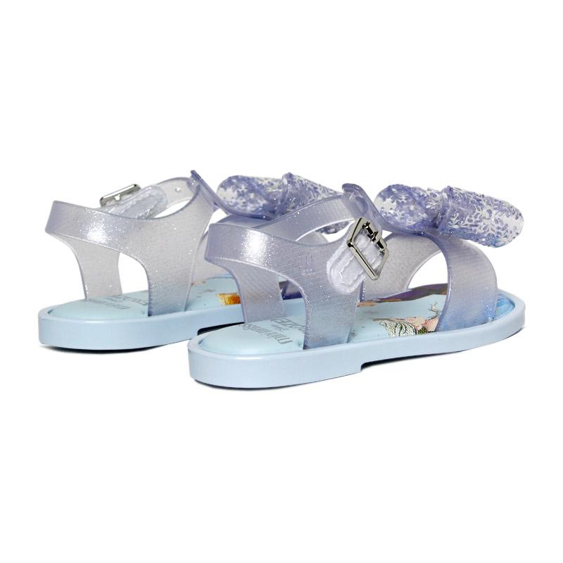 Mini melissa mar sandal frozen azul 2