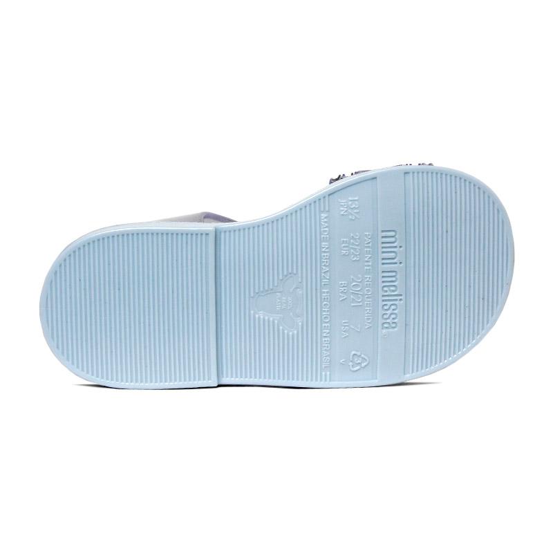 Mini melissa mar sandal frozen azul 3
