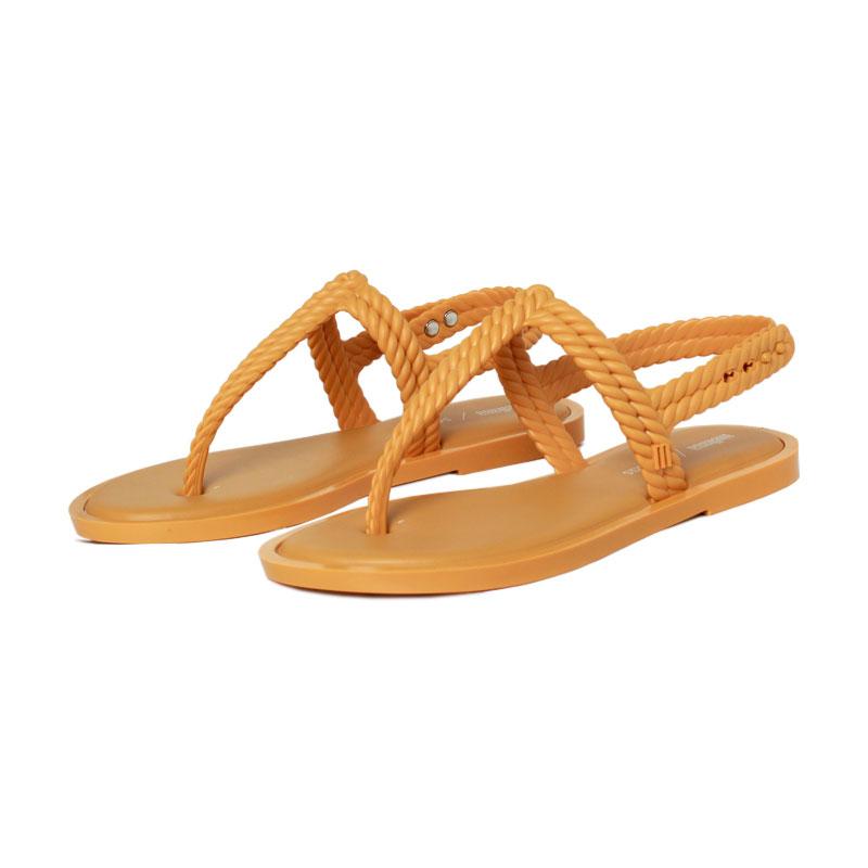Melissa flash sandal salinas mostarda 1