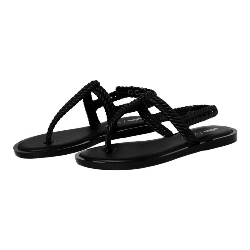 Melissa flash sandal salinas preto 1