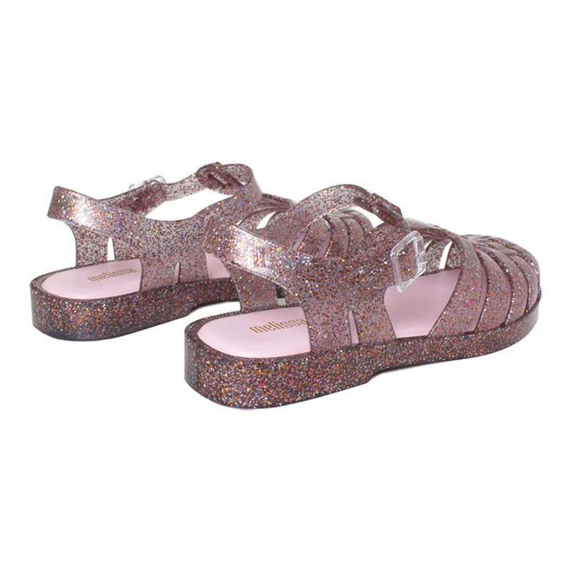 Melissa possession fluor edition gliter misto rosa 1