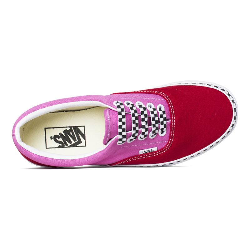 Tenis vans era plataform chili papper fuchsia pink 2