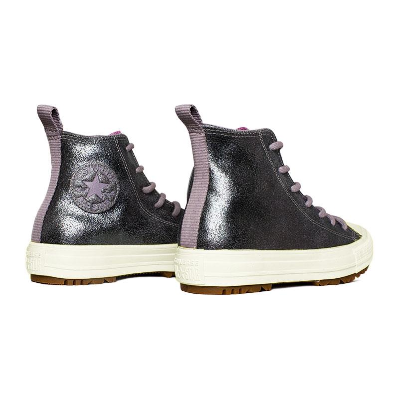 Chuck taylor all star boot cinza rosa 1