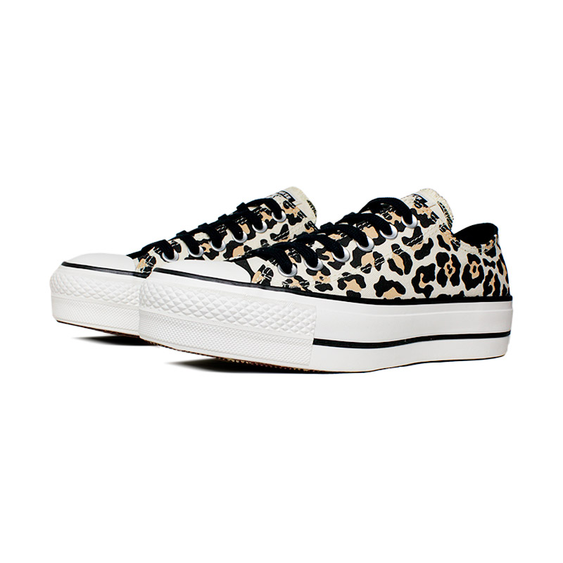 All star plataforma animal print 1