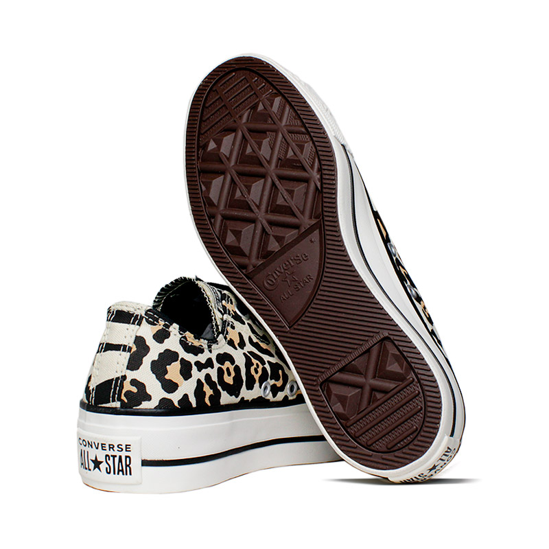 All star plataforma animal print 2