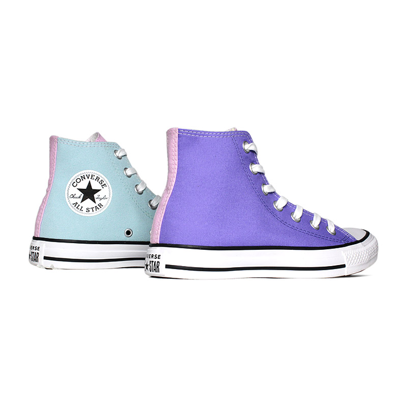 All star 3 colors hi azul bebe lilas 2
