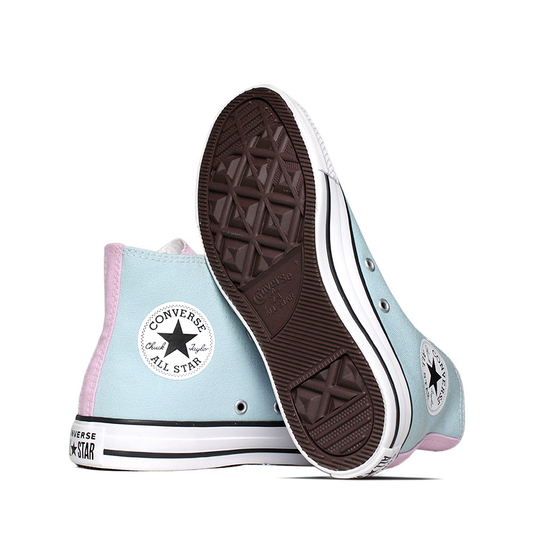 All star 3 colors hi azul bebe lilas 3