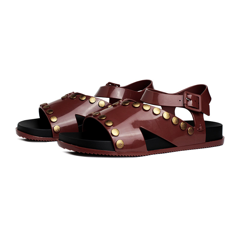 Melissa vw ciao sandal preto marrom 1