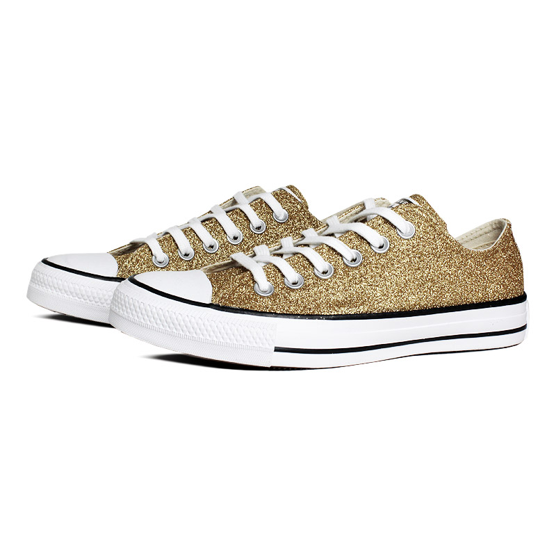 All star metalizado ox ouro 1