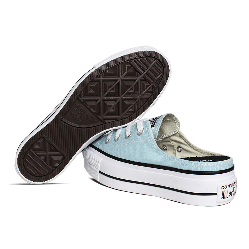 All star mule plataforma azul bebe 3