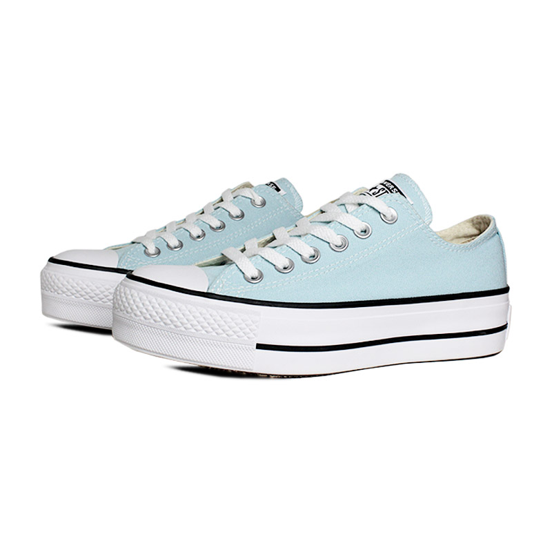 All star plataforma ox azul bebe 1