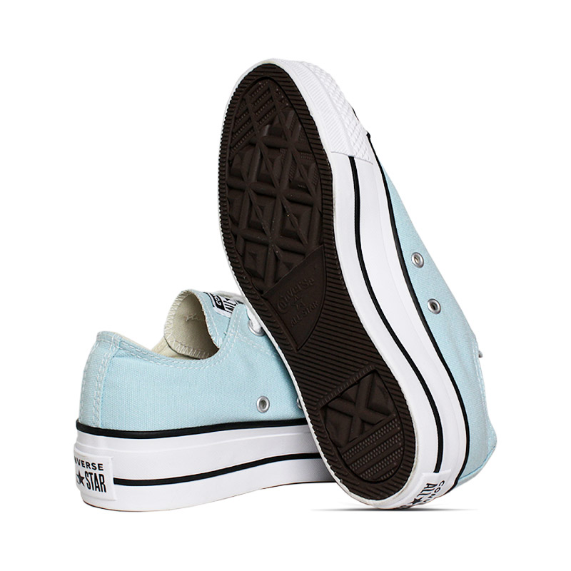 All star plataforma ox azul bebe 3