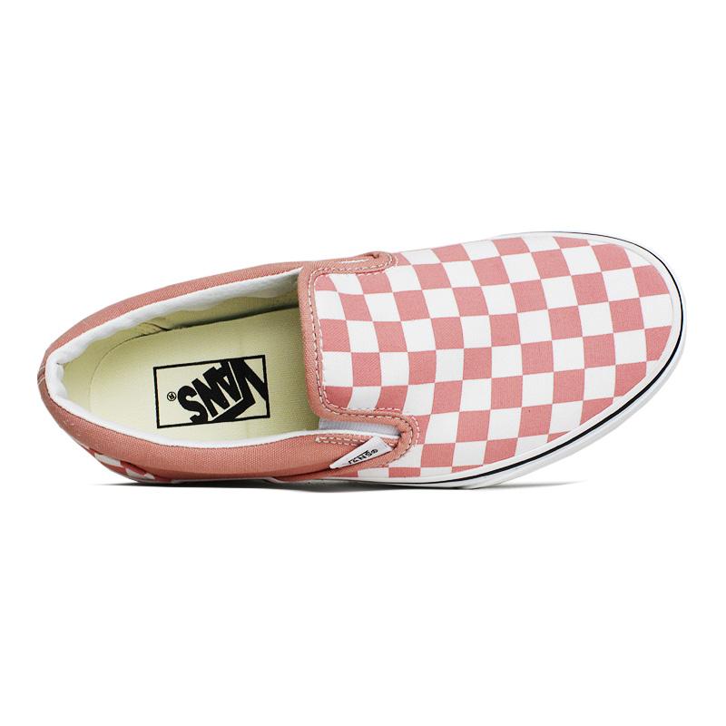 Tenis vans checkerboard rose dawn 2