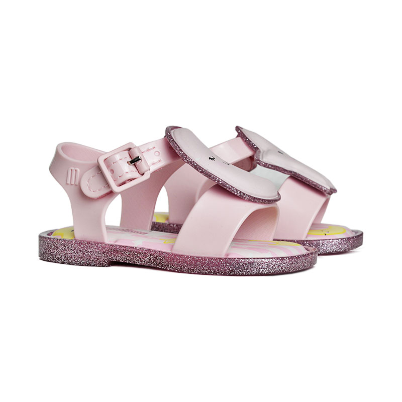 Mini melissa mar sandal sweet dreams rosa 2