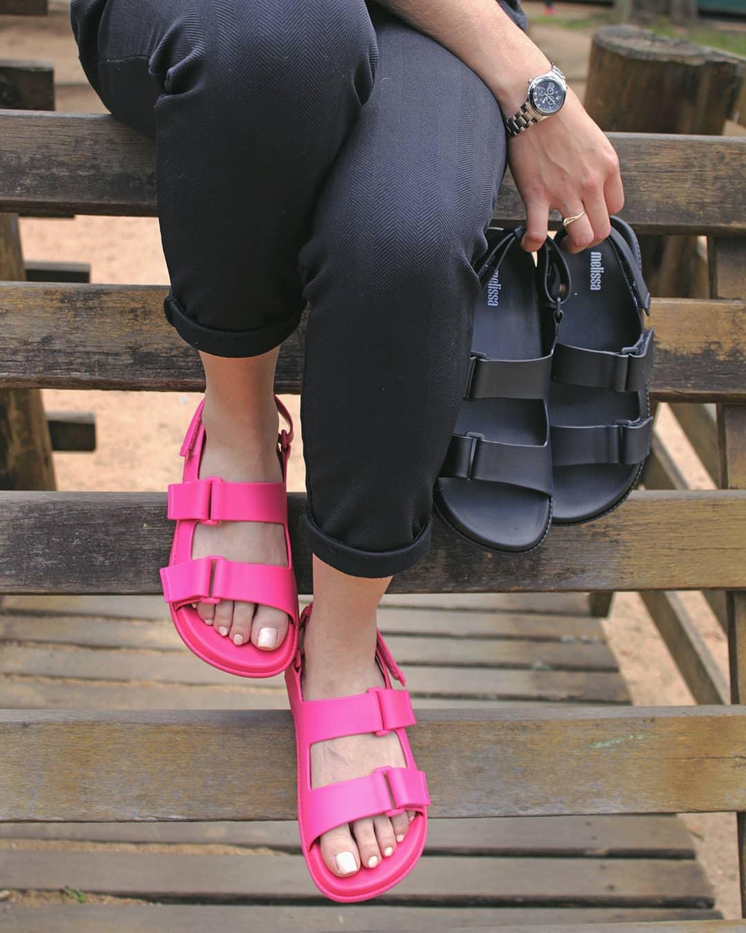 Melissa papete pretty rosa pink 4