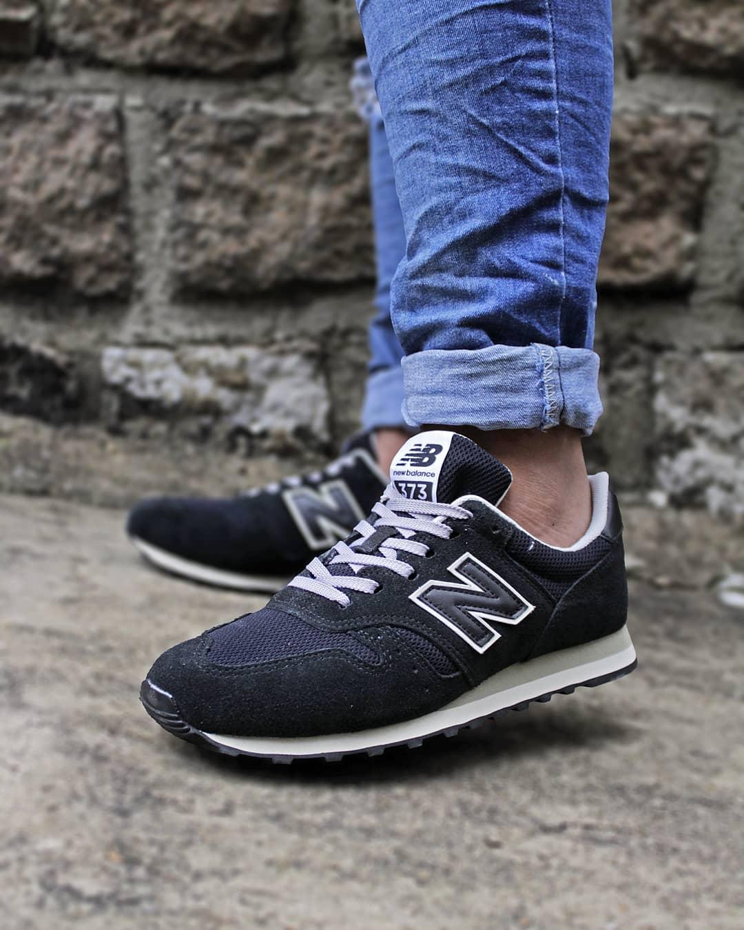 New balance 373 masculino preto 4