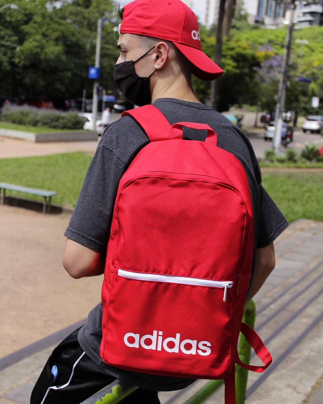 Mochila adidas daily classic scarlet 2