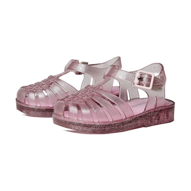 Mini melissa possession rosa glitter 1