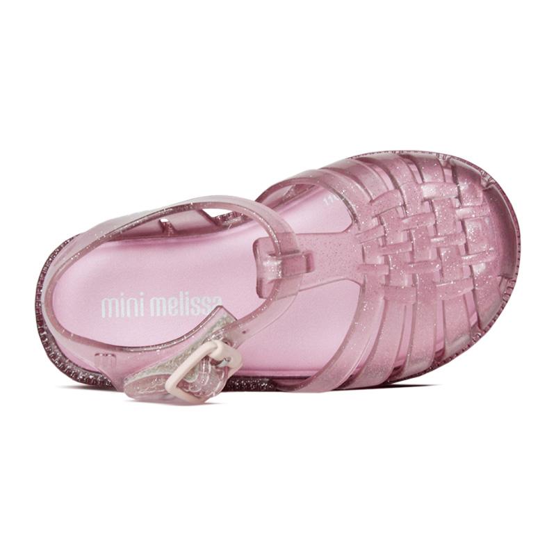 Mini melissa possession rosa glitter 2
