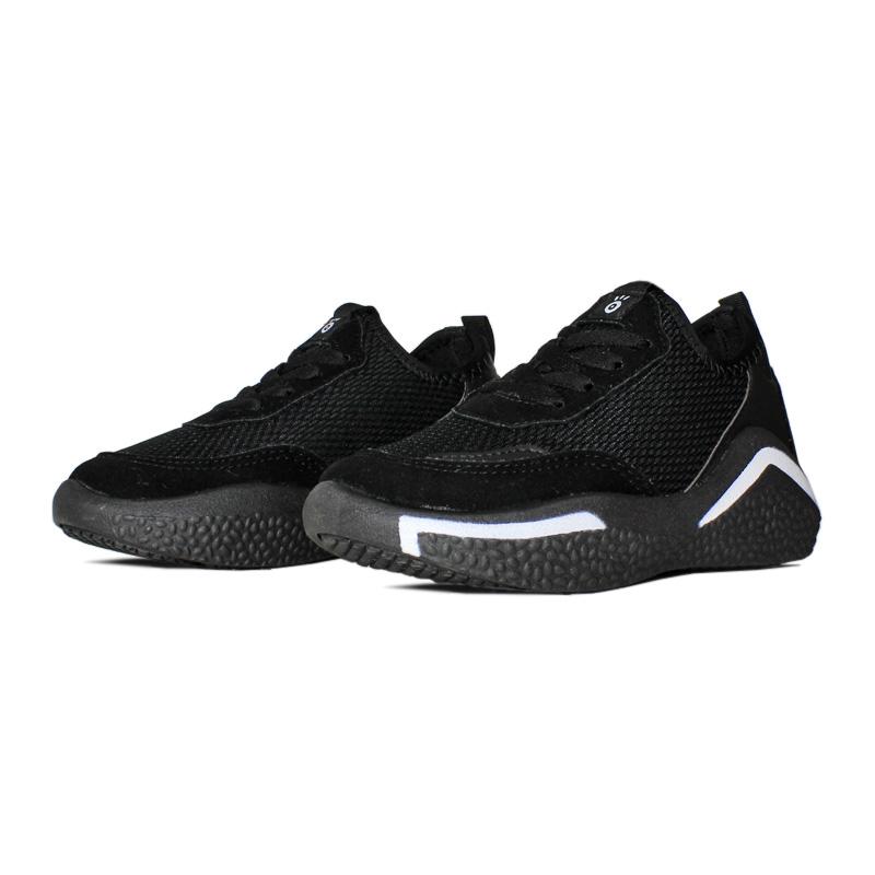 Slip on lace fake preto branco 28 a 33 2