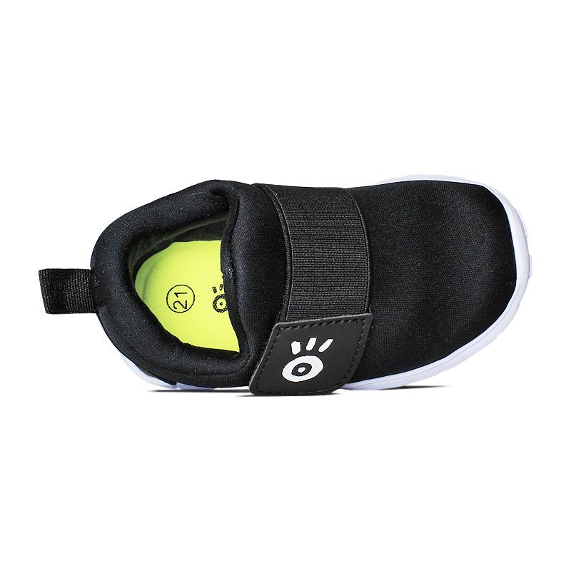 Slip on com elastico preto branco 18 a 27 1