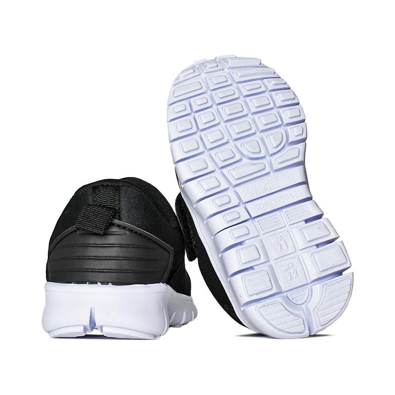Slip on com elastico preto branco 18 a 27 2