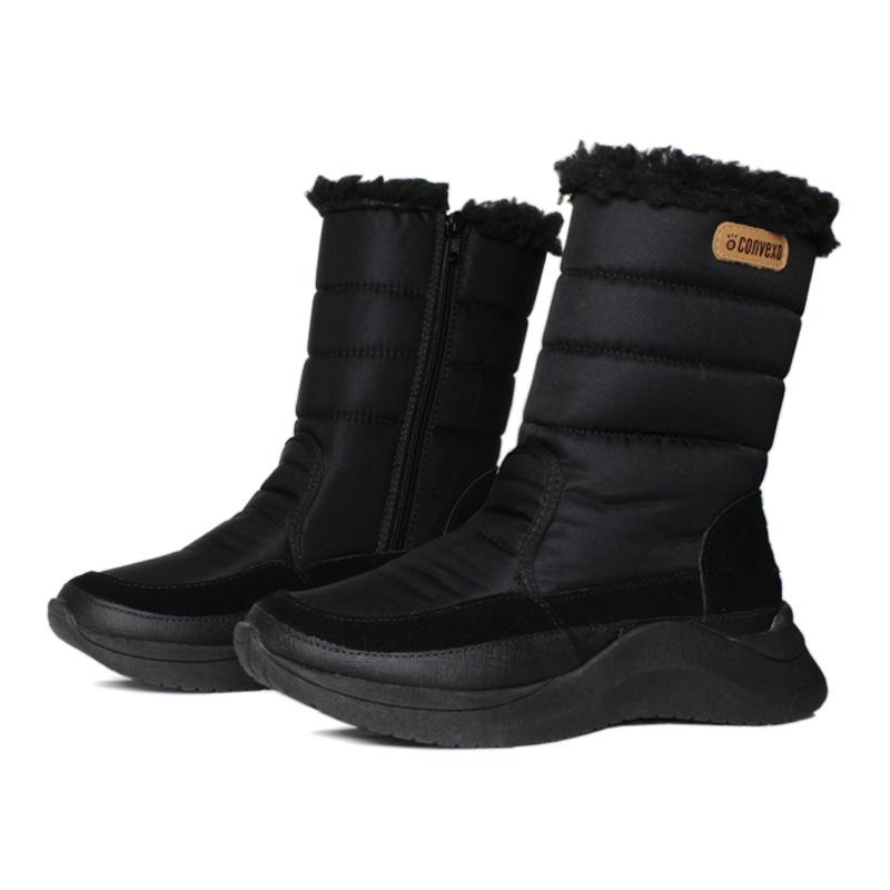 Snow puff boot nylon preto 1