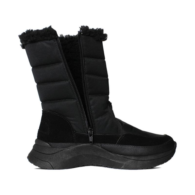 Snow puff boot nylon preto 2