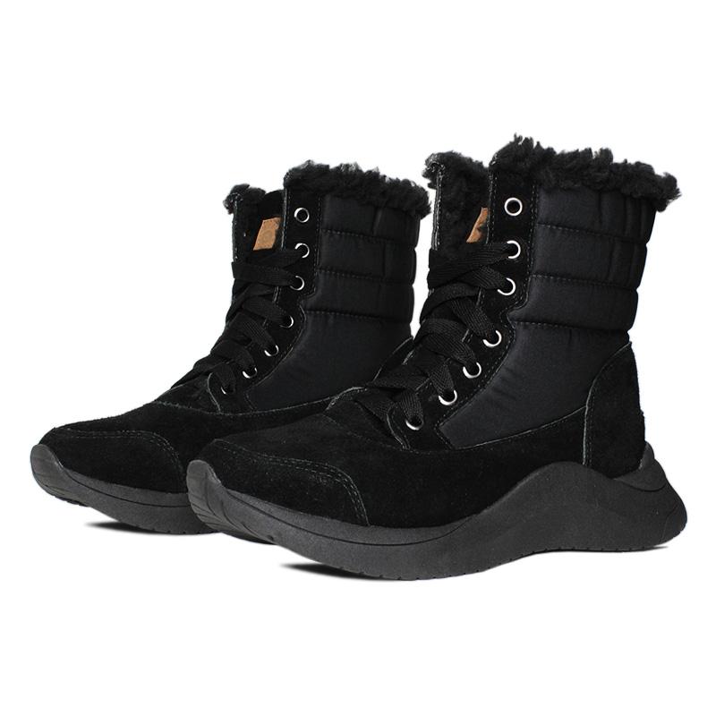 Snow montain boot preto 1